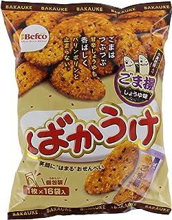 栗山米菓 ばかうけ ごま揚 16袋×12個