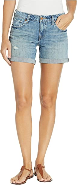 Roll Up Shorts in Tuck