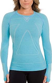 Zensah Women's Run Seamless Long Sleeve Running Shirt