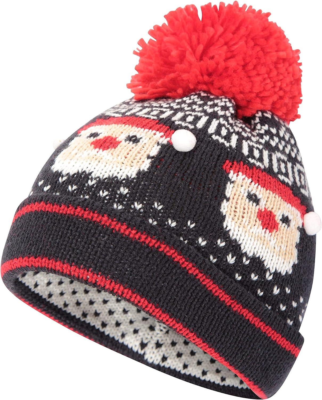 Mountain Warehouse Mens Xmas Elfie II Beanie Warm Winter Hat Cap