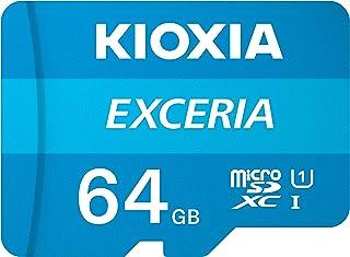 Kioxia LMEX1L064GG2 Scheda di memoria MicroSD classe 10 con adattatore 64 Gb