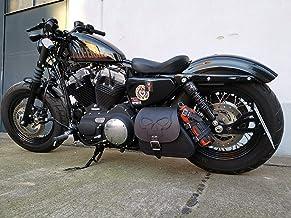 Kit L/ève R/éservoir D Noir pour Harley Sportster XL883 1200 48 72-51mm