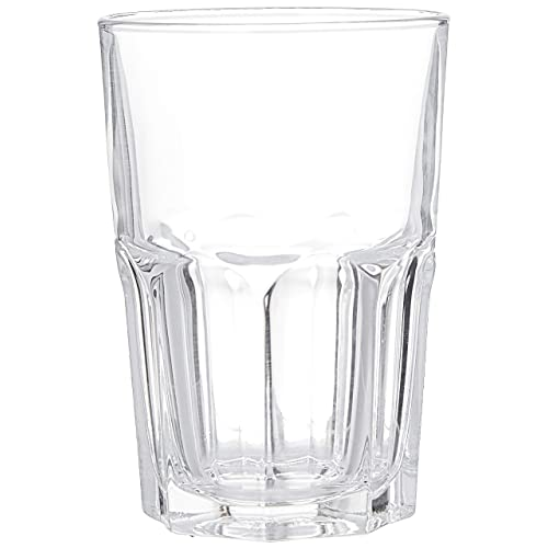 Luminarc Temp Granity Highball Glass Tumbler Set, 350ml, Set of 6, Transparent