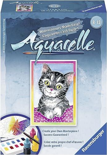 Ravensburger Aquarelle Cat - Arts & Crafts Kit Playset