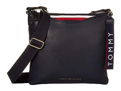 Tommy Hilfiger Walker Smooth PVC Crossbody (Tommy Navy) Cross Body Handbags