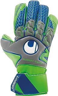 uhlsport TENSIONGREEN Soft Support Frame Finger Protection Goalkeeper Gloves for Soccer