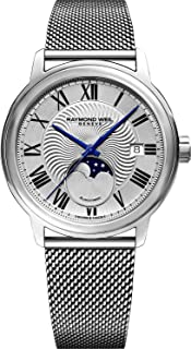 Maestro Automatic Silver Dial Mens Moonphase Watch 2239M-ST-00659