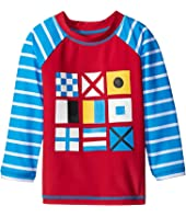 Hatley Kids - Nautical Flags Rashguard (Toddler/Little Kids/Big Kids)
