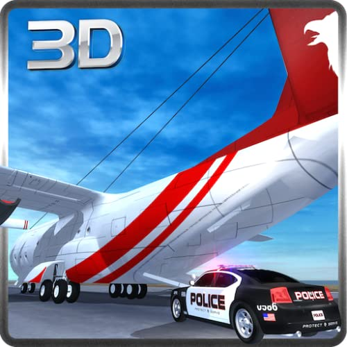 Police Car Transporter Plane & Cargo Truck Simulator 3D: Transport Furious & Fast Police Cars In Airplane Flight Thrilling Simulation Game 2018