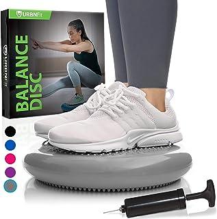 دیسک تعادل - بالشتک کابینت پایدار - پشتی کمری برای میز و صندلی دفتر ، کمر درد و کمر درد - صندلی مچ دست بچه برای کلاسها - تجهیزات بدنسازی بدنسازی خانگی - تجهیزات پمپ شامل