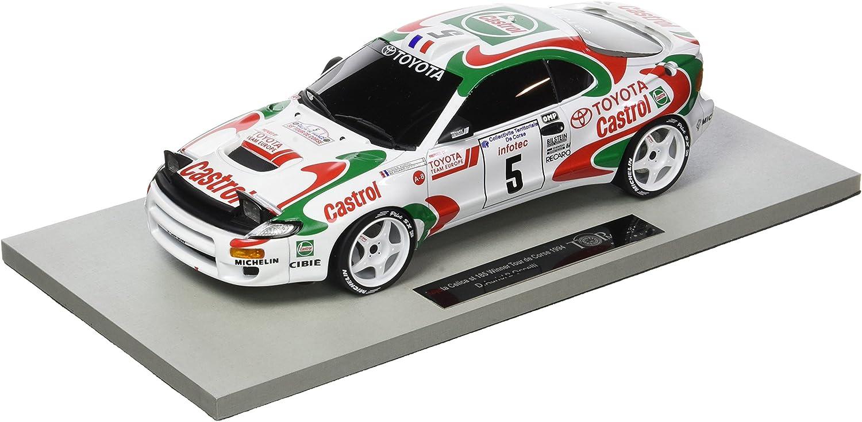 Top Marken Collectibles–top34e–Toyota Celica GT4–Winner Tour de Corse 1994–Echelle 1 18–Wei Rot Grün