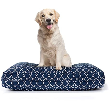 Amazon Com Eluxurysupply Dog Bed Cover Replacement 100 Cotton Canvas Pet Bed Zipped For Easy Removal Washable Preshrunk Durable Fits Orthopedic Memory Foam Dog Bed Puppy Bed Small