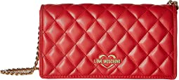 LOVE Moschino - Super Quilted Clutch
