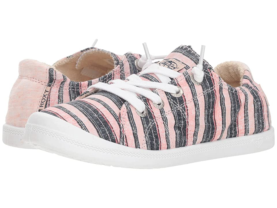 Roxy Kids Bayshore III (Little Kid/Big Kid) (Pink Stripe) Girl