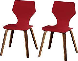 Angelo:HOME Asti Collection Dining Chair, Red