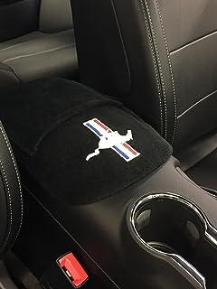 Sitz Armour Custom Fit Konsole mit aufgesticktem Logo für Select Mustang Lenkeraufsatz Tribar Modelle mit Jump Sitz–Baumwolle (schwarz) (Offizielles Lizenzprodukt, dritte Plätze und Bench Plätze)