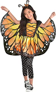 Suit Yourself Monarch Butterfly Halloween Costume for Girls, Includes Dress and Headband
