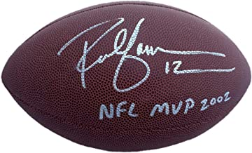rich gannon signed football