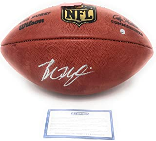Baker Mayfield Cleveland Browns Signed Autograph Authentic NFL Duke Football Steiner Sports Certified