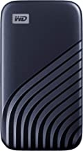 درایو قابل حمل خارجی WD 2TB My Passport SSD ، آبی ، حداکثر 1050 مگابایت در ثانیه - WDBAGF0020BBL-WESN