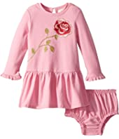 Kate Spade New York Kids - Rose Dress Set (Infant)