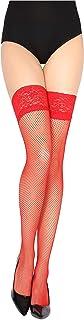 Merry Style Medias Rejilla Autoadhesivas de Red Malla Lencería Sexy Mujer MSSS003