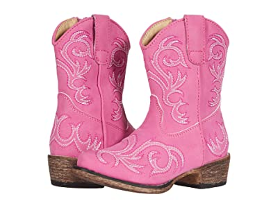 Roper Kids Riley (Toddler) (Pink) Cowboy Boots