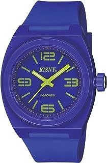 [リスニー]RISNY 腕時計 電子マネーEdy(エディ)搭載 バイオレット RS-001M-04