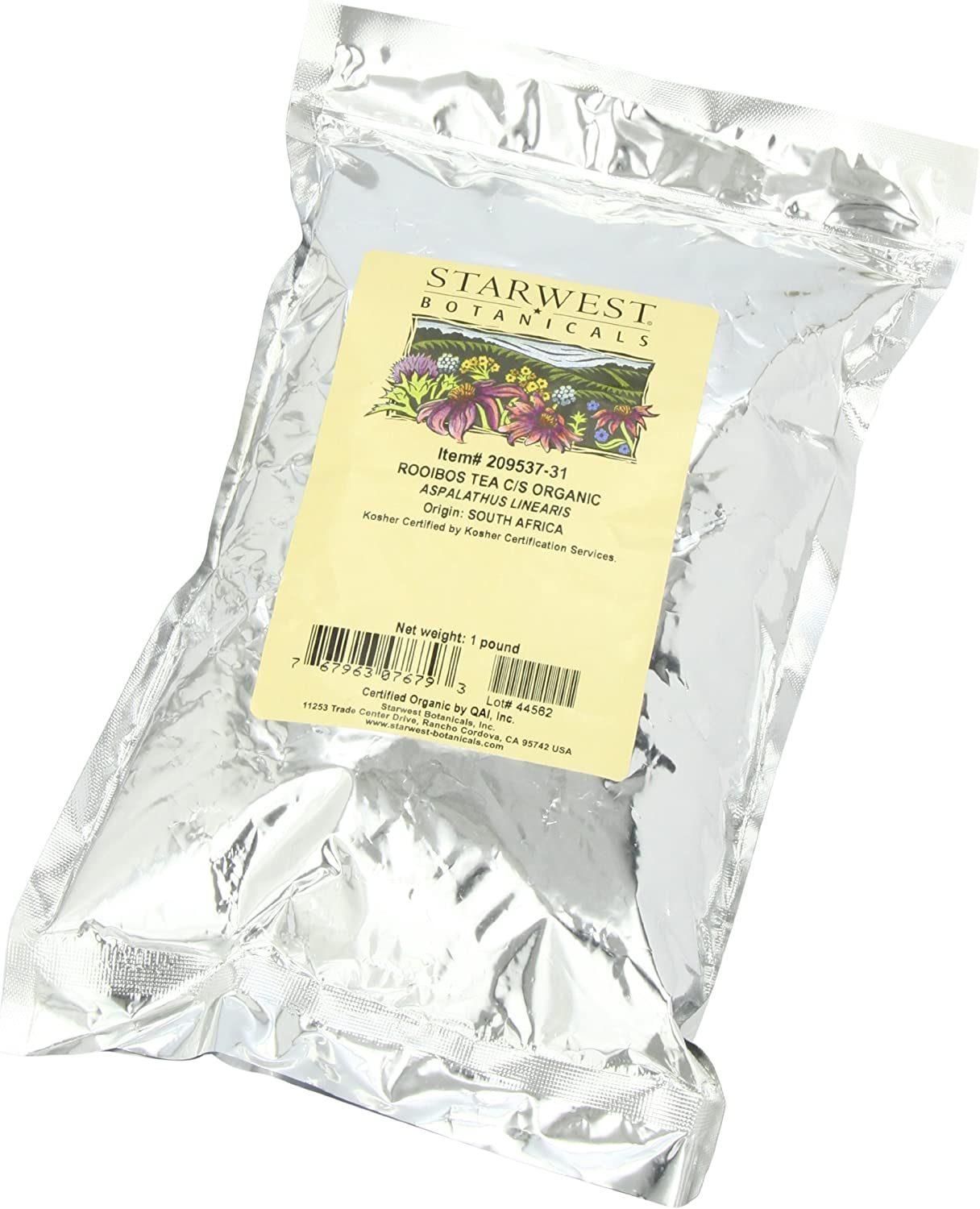Starwest Botanicals Rooibos Tea C Bargain sale Bags Organic Pack 1-pound S Free shipping anywhere in the nation