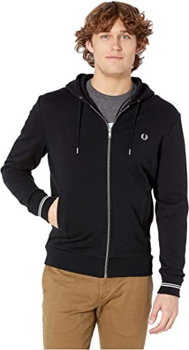 3cca2221b Fred Perry Embroidered Hooded Sweatshirt at Zappos.com