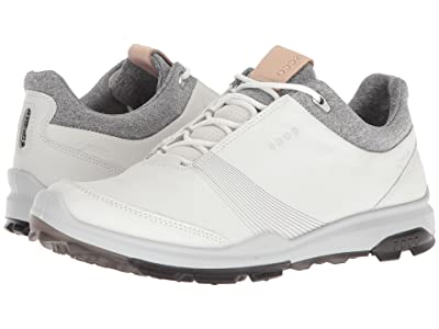 ECCO Golf Biom Hybrid 3 GTX (White/Black) Women