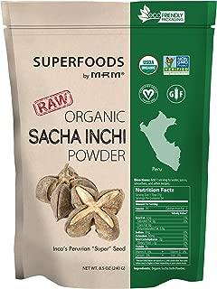 Mrm Organic Sacha Inchi Powder, Vegan, Gluten-Free & Non-Gmo Project Verified, 8.5 Ounce