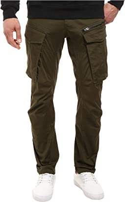 Rovic Zip 3D Tapered Jeans in Premium Micro Stretch Twill Dark Bronze Green
