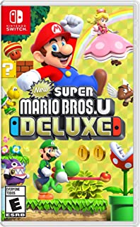 New Super Mario Bros U Deluxe Nintendo Switch Video Game (Nintendo Switch)
