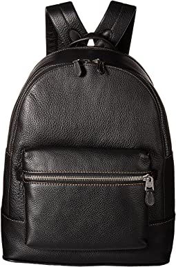 COACH League Backpack in Glovetan Pebble