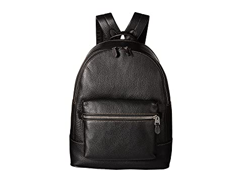 Mochila COACH League Glovetan Negro en Pebble 0wZ7wxa