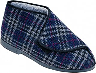 GBS William Great British Touch Fastening Bootee/Mens Slippers/Mens Bootee