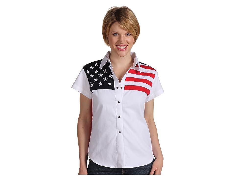 Scully Stars Stripes Shirt (White) Women