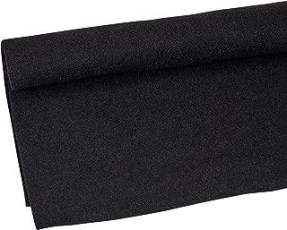 Parts Express Speaker Cabinet Carpet Jet Black Yard 54