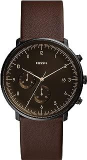 Fossil Men's FS5485 Chronograph Quartz Brown Watch