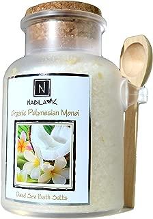 Organic Polynesian Monoi Bath Salt, 17.6oz