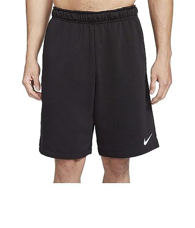 Nike Dry Shorts Fleece (Black/White) Men