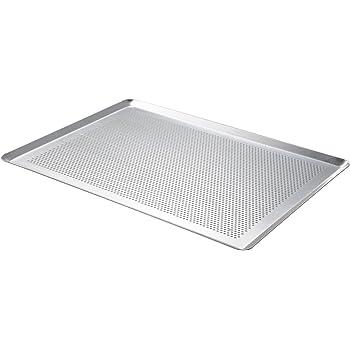 De Buyer 7367.40 Backblech / Backunterlage, Aluminium, perforiert, 40 x 30 cm