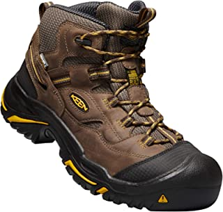 Men's Braddock All Leather Mid Waterproof (Steel Toe) Work Boots