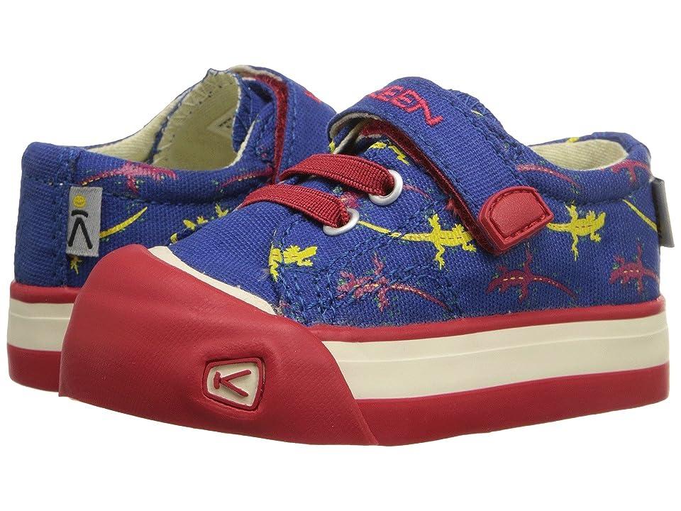 Keen Kids Coronado Print (Toddler) (Blue Lizard) Boys Shoes