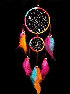 Betterdecor Handmade Dream Catcher Car or Wall Hanging Ornament-CFL (With a Logo Bag)