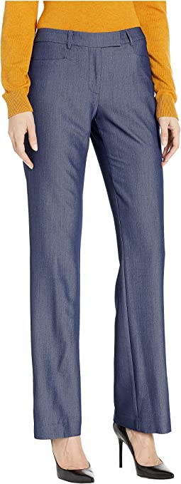 Dressy Denim Boot Leg Pants