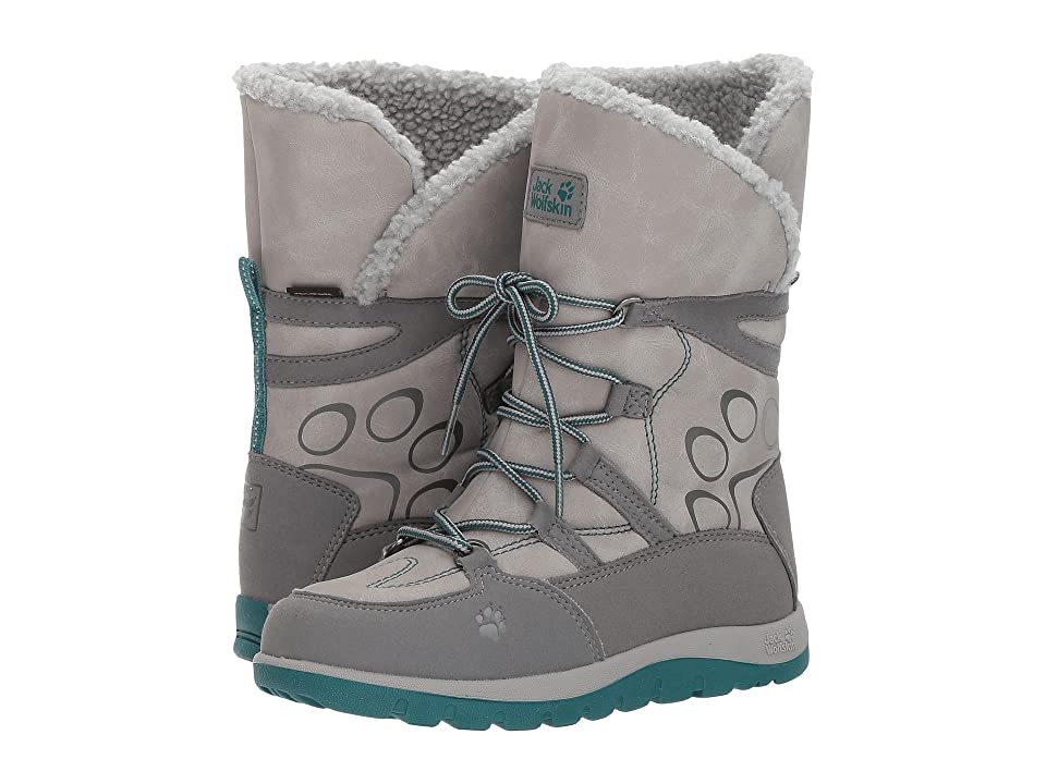 Jack Wolfskin Kids Rhode Island Waterproof High (Toddler/Little Kid/Big Kid) (Alloy) Girls Shoes