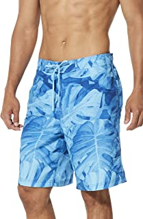 Speedo Mens Swim Trunk Knee Length Boardshort E-Board Comfort Liner Printed