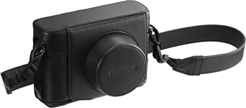 fujifilm x10 brown leather case
